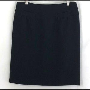 Talbots Women's Pencil Skirt Black Size 10P